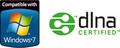 Windows7/dlna ロゴ