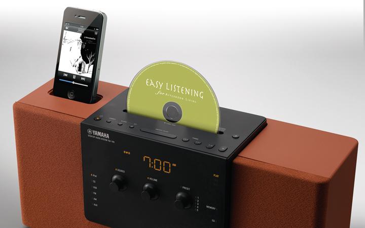 iPodデジタル接続と独自技術で、iPod/iPhoneを高音質再生