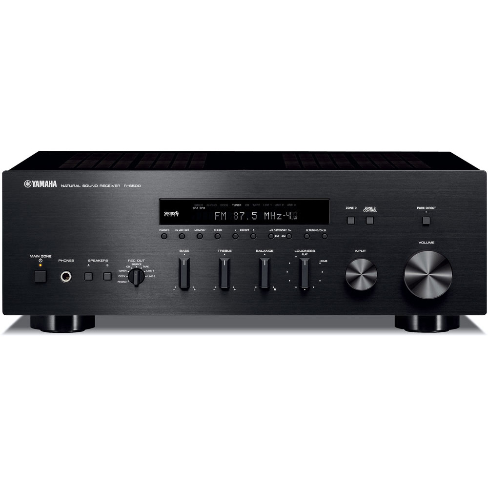 Change >> R-S500 - Stereo Receivers - Hi-Fi Components - Audio & Visual - Products - Yamaha United States