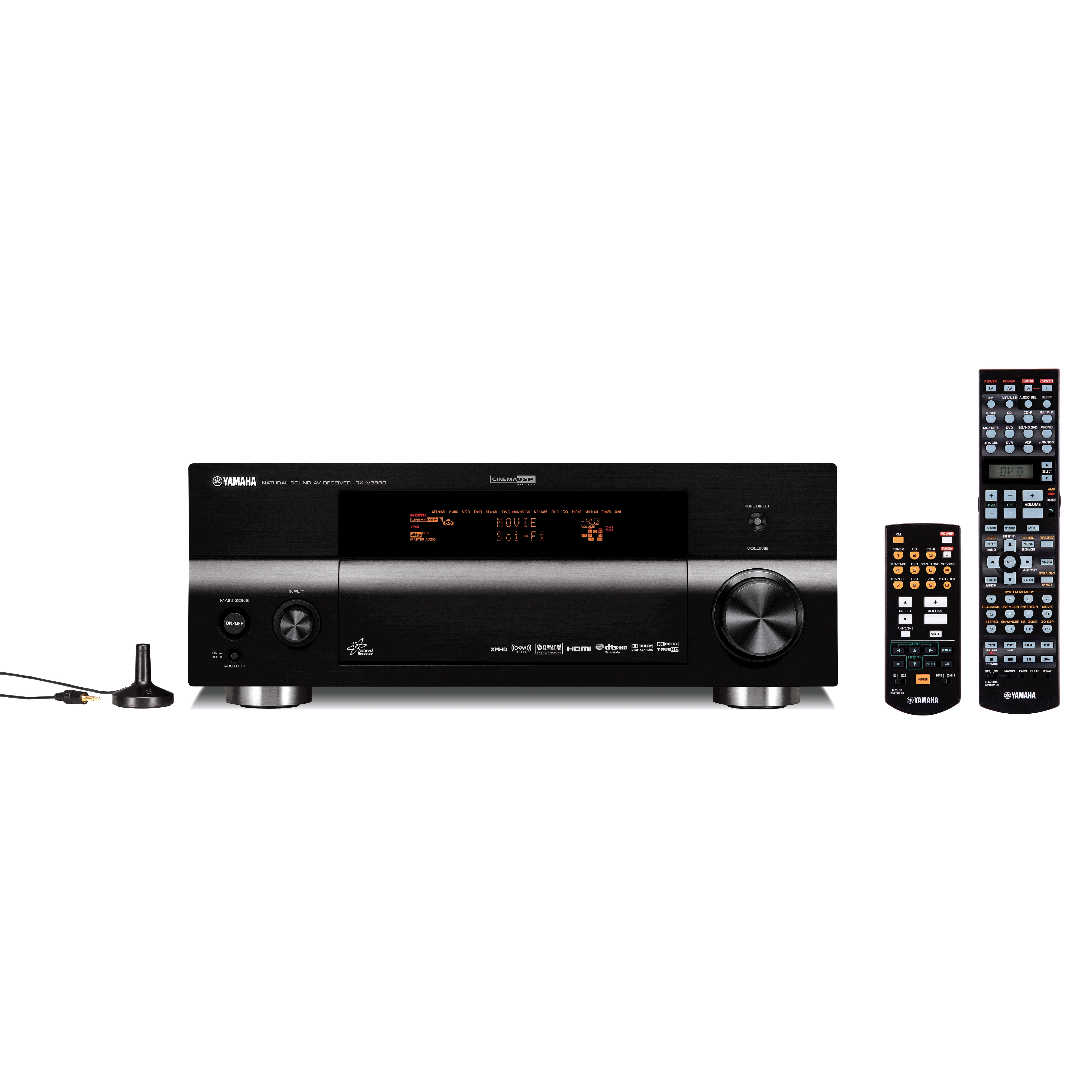 RX-V3800 - RX-V - AV Receivers - Audio & Visual - Products ... Yamaha Receivers