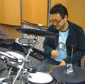 ドラム講師高橋先生