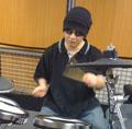 ドラム講師堤先生