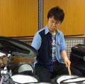 ドラム講師田中先生