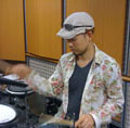 ドラム講師飯島先生