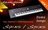S90XS / S70XS. The  Perfect Performance. Demo Songs.