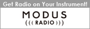 Get Radio on Your Instrument! Modus Radio.