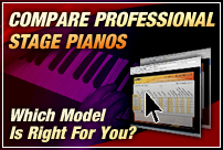 Compare Professional Stage Pianos. Which Model is Right For You?