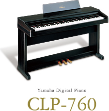 Yamaha Digital Piano CLP-760