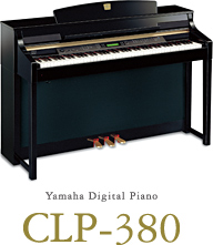 Yamaha Digital Piano CLP-380