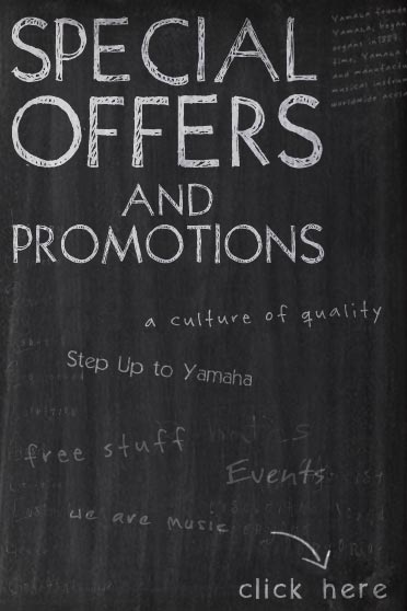 Visit yamahapromos.ca for product promotions, contests and special offers