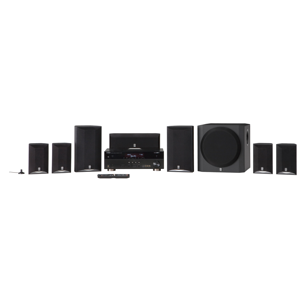 Yamaha YHT 895 Home Theater Surround Sound System 7 1 | eBay