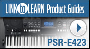 Link to Learn Products Guides PSR-E423