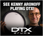 See Kenny Aronoff Playing DTX!