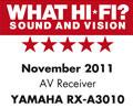 What HiFi: RX-A3010 5 Stars