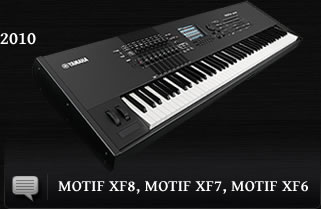 MOTIF XF Series - Synthesizers - Yamaha - UK and Ireland