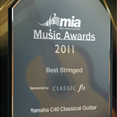 Yamaha C40 Classical Guitar voted UK's best stringed instrument following public poll