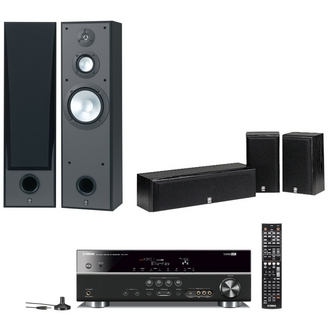 Yht 371t Home Theater System Beginner Series 5 1ch