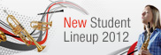 New Student Lineup 2012