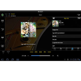 av controller for android apps yamaha canada. Black Bedroom Furniture Sets. Home Design Ideas