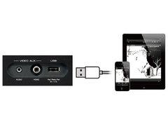 USB端子へのiPod/iPhone/iPad接続イメージ図