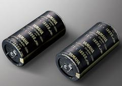 特製カーボンシース・ブロックケミコン(18,000μF×2)画像