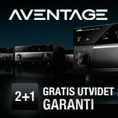 2 + 1 Aventage - gratis utvidet garanti