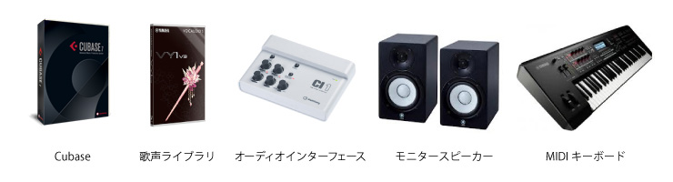 Equipments for VOCALOID™