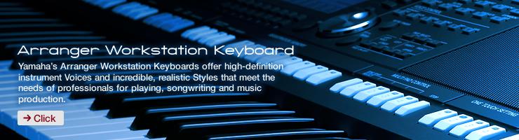 Arranger Workstation Keyboard