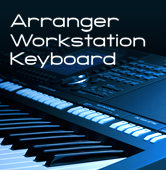 Arranger Workstation Keyboard