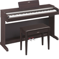 YDP-142R: Dark Rosewood with Bench