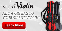 Add a gig bag to your Silent Violin