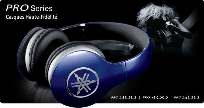 PRO Series High-Fidelity Headphones.