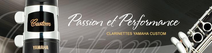Clarinettes Yamaha Custom