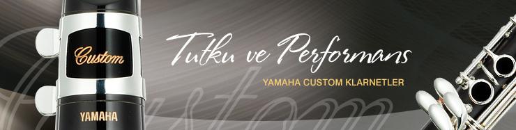 Yamaha Custom Klarnetlar