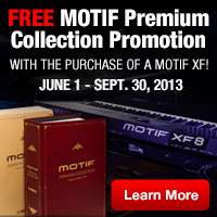 MOTIF XF PREMIUM COLLECTION OFFER
