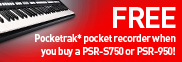 Pick up a free Yamaha Pocketrak!
