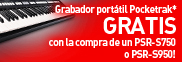 ¡Consigue un Yamaha Pocketrak Gratis!