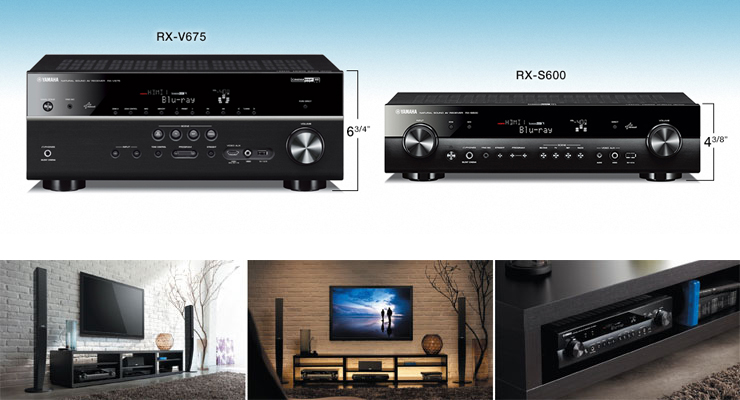 rx s600 rx s av receivers audio visual products. Black Bedroom Furniture Sets. Home Design Ideas