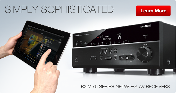 RX-V75 Series Network AV Receivers