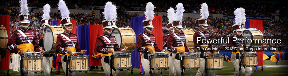 Cadets Deliver a Powerful Performance Using Yamaha Instruments