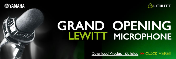 Grand Opening LEWITT Microphone