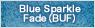 Blue Sparkle Fade(BUF)