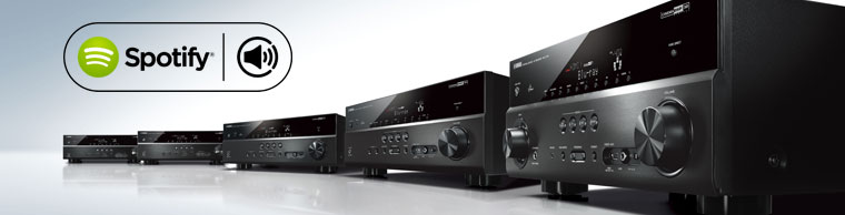 Spotify connect released for remaining network av receiver for Yamaha amplifier spotify