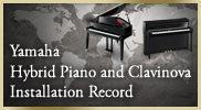 Hybrid Piano & Clavinova Installation Record