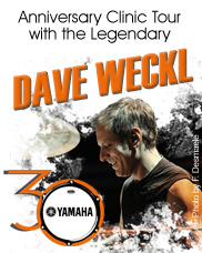 Dave Weckl 30th Anniversary Clinic Tour