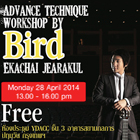 Advance Technique Workshop By Bird-Ekachai Jearakul