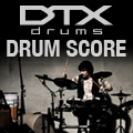 DTX DRUMS DRUM SCORE