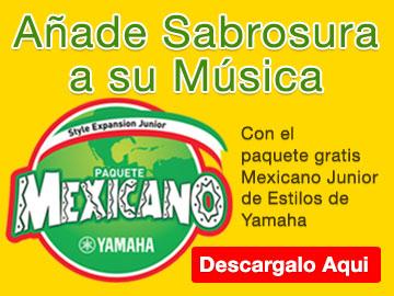 Paquete Mexicano Junior Estilos de Yamaha