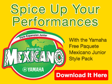Yamaha Paquete Mexicano Junior Styles
