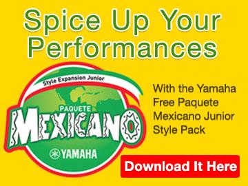 Yamaha Paquete Mexicano Junior Styles